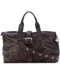 P.A.R.O.S.H. - Studded Buckle Shoulder Bag - Lyst