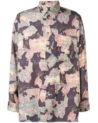 Jean Paul Gaultier - Hotel Print Shirt - Lyst