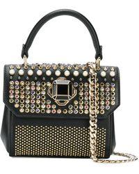 Elie Saab - Swarovski Crystal Embellished Mini Handbag - Lyst