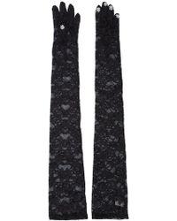 Nina Ricci - Sequin Tip Gloves - Lyst