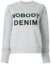 Nobody Denim - Nobody Favourite Sweat Cinder - Lyst