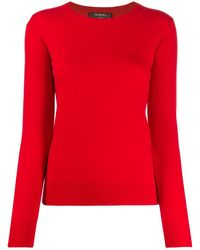 N.Peal Cashmere - Round Neck Sweater - Lyst