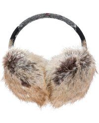 Barbour - Fur Ear Plugs - Lyst