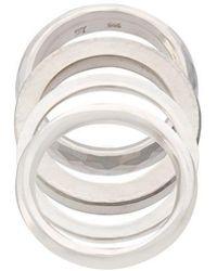 Werkstatt:münchen - Flacher Ring - Lyst