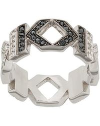 Karl Lagerfeld - Double K Ring - Lyst
