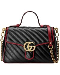b243dea30 Gucci White Gg Marmont Matelasse Camera Bag in White - Lyst