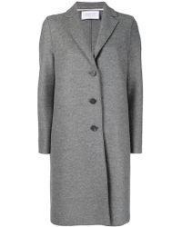 Harris Wharf London - Single Breasted Coat - Lyst