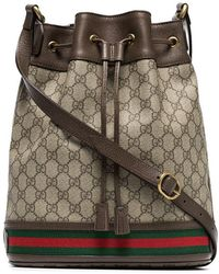 6a1047e65282 Lyst - Gucci Ophidia Gg Bucket Bag for Men