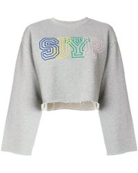 SJYP - Branded Jumper - Lyst