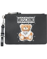Moschino - Teddy Bear Medium Pouch - Lyst