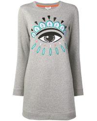 KENZO - Eye Motif Dress - Lyst