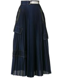 Aviu | Pleated Design Skirt | Lyst