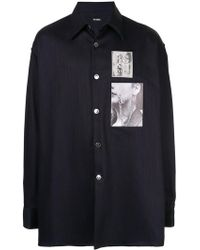 Raf Simons - Chest Patch Shirt - Lyst