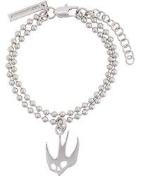 McQ - Swallow Charm Bracelet - Lyst
