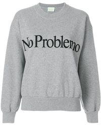 Aries - No Problemo Print Sweatshirt - Lyst