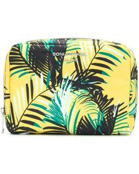 Sonia Rykiel - Palm Print Makeup Bag - Lyst