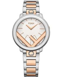 Fendi - Two-tone Run Away Watch - Lyst