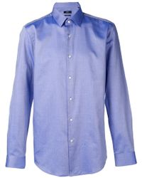BOSS - Classic Button-up Shirt - Lyst