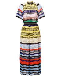 Missoni | Colourblocked Cotton-blend Jumpsuit | Lyst