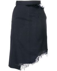 Facetasm - Skirt With Stripes - Lyst
