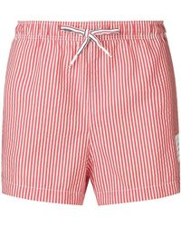 59ff9b0c84 Thom Browne Dachshund Patterned Swimming Trunks in Black for Men - Lyst
