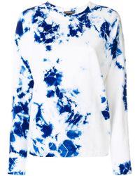 Suzusan - Tie Dye Long Sleeve T-shirt - Lyst