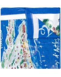 Polo Ralph Lauren | Cote D'azure Motif Scarf | Lyst
