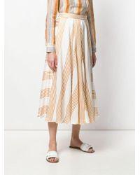Loro Piana - Striped Skirt - Lyst