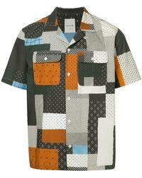 WOOD WOOD - Quilt Miami Shirt - Lyst