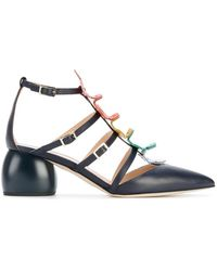 Anya Hindmarch - Apex Cage Pumps - Lyst