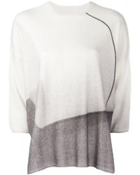 Oyuna - Three-quarters Sleeve Boxy Jumper - Lyst