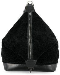 Jamin Puech - Furry Zipped Backpack - Lyst
