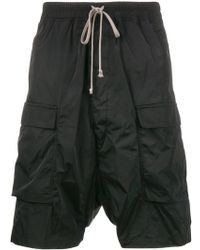 Rick Owens - 'drawstring Cargo Pods' Trousers - Lyst
