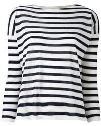 Giada Benincasa - Striped Jumper - Lyst
