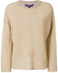 Ralph Lauren - Dropped Shoulders Jumper - Lyst