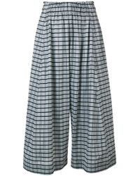 Henrik Vibskov - Come Together Checked Culottes - Lyst
