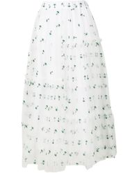 P.A.R.O.S.H. - Nypalm Skirt - Lyst
