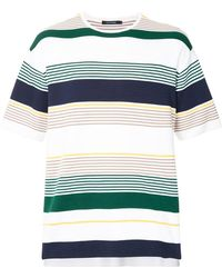 Guild Prime - Striped Knitted Top - Lyst