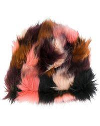 Faliero Sarti - Faux Fur Hat - Lyst