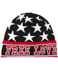 2aa32e306b1 Lyst - Dolce   Gabbana Dg Is Love Beanie in Black for Men