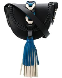 RED Valentino - Fringe Tassel Shoulder Bag - Lyst