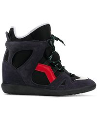 Isabel Marant - Bramy Wedge Trainers - Lyst