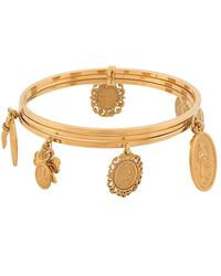 Dolce & Gabbana Multiple Charms Bracelet - Metallic
