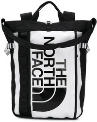 The North Face - Contrast Logo Backpack - Lyst