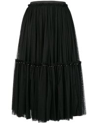 Twin Set - Pleated Tulle Skirt - Lyst