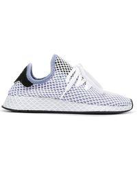 Lyst adidas originali deerupt correre le scarpe da ginnastica in blu