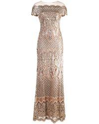 Tadashi Shoji - Abendkleid mit Pailletten - Lyst