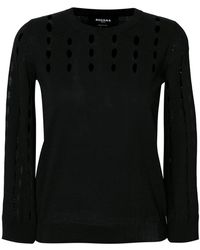 Rochas - Perforated Jumper - Lyst