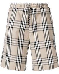 Andrea Crews - Classic Check Shorts - Lyst