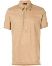 Tom Ford - Plain Polo Shirt - Lyst